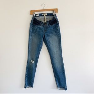 Madewell | Maternity Skinny Jeans | Size 27
